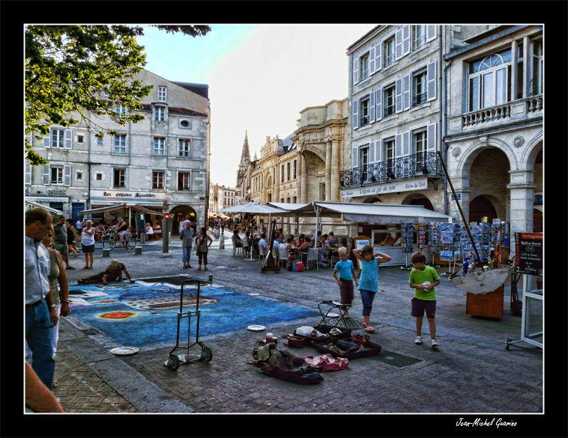 La Rochelle artiste ambulant