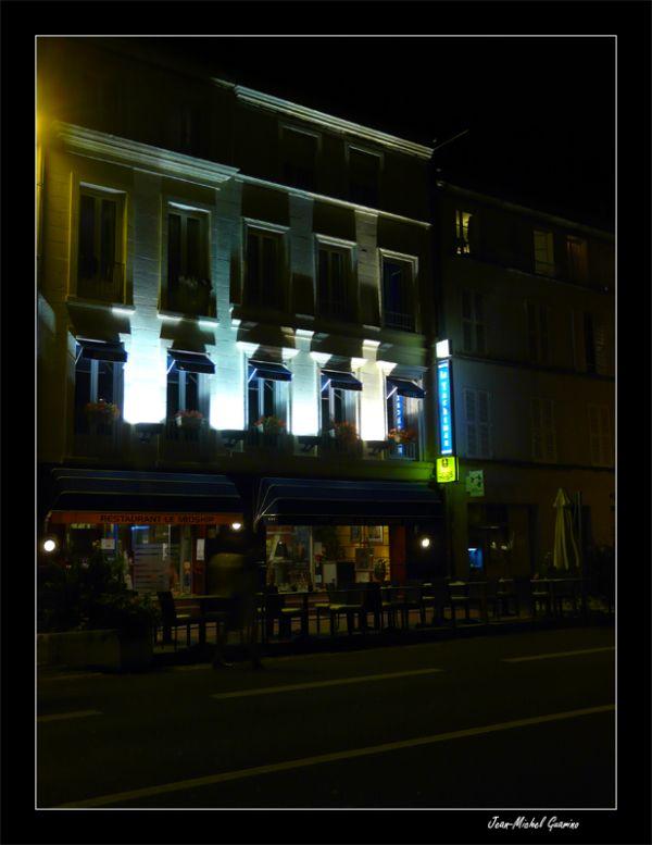 La Rochelle vieux port ambiance de nuit