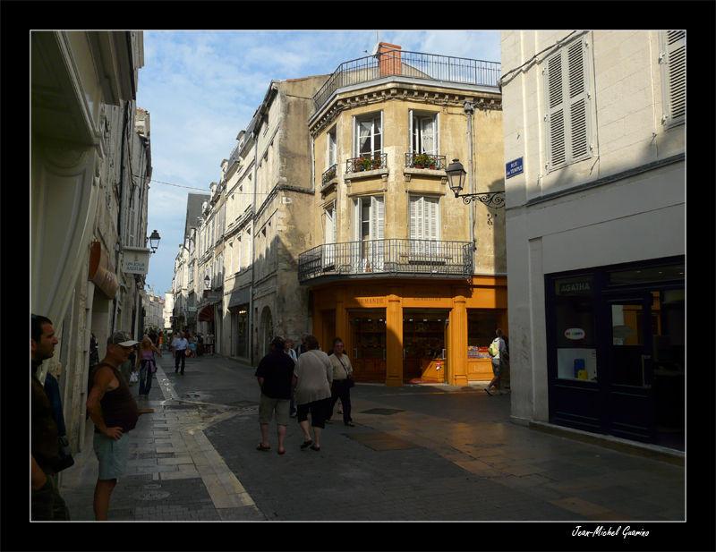 La Rochelle Charente Maritime vieille ville