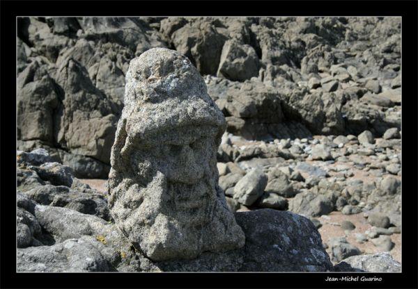 Rochers sculptes Rotheneuf bretagne