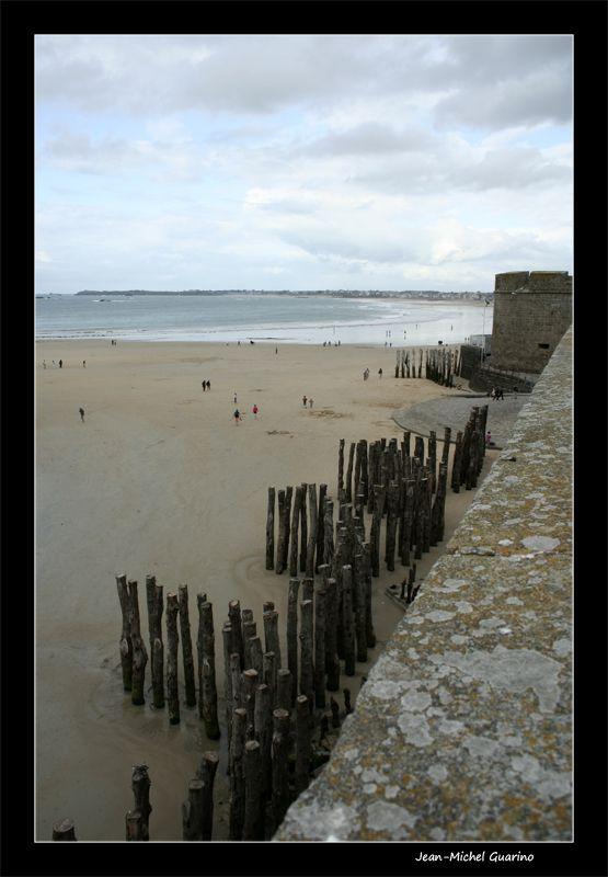 Saint Malo Bretagne Brise lames