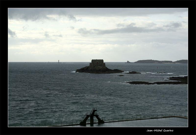 Saint Malo Mer Fort Petit Be