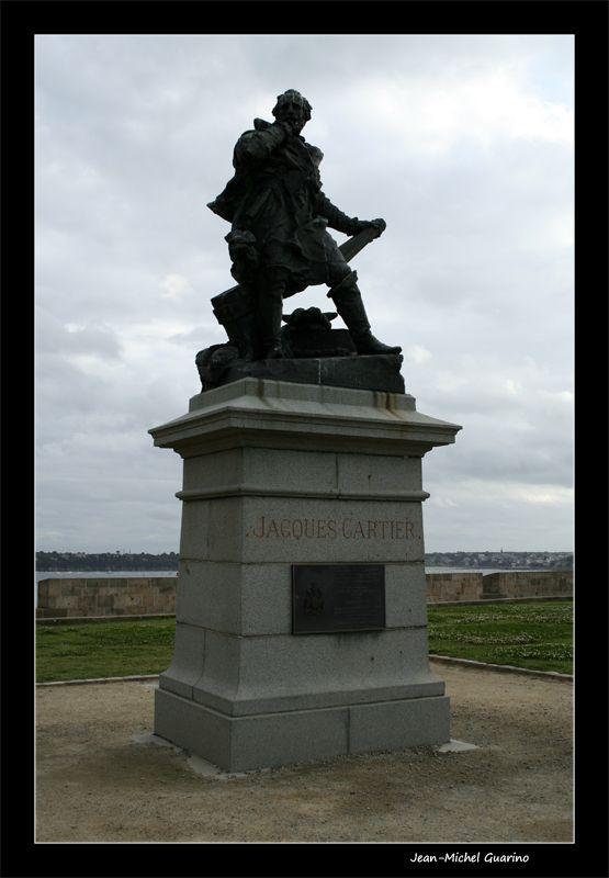 Saint Malo statue Jacques Cartier