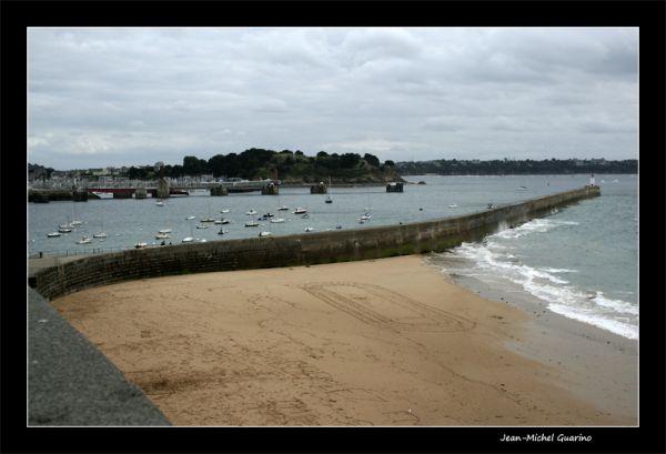 Saint Malo Mer ferry port Dinard