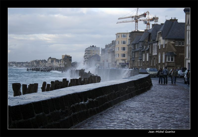 Saint Malo Bretagne France Mer