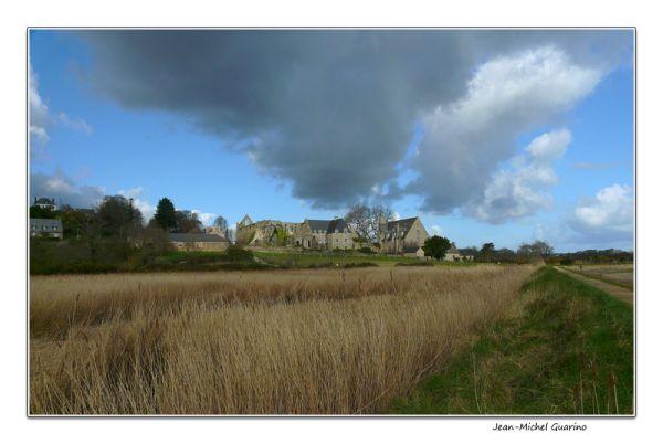 Bretagne france paimpol abbaye