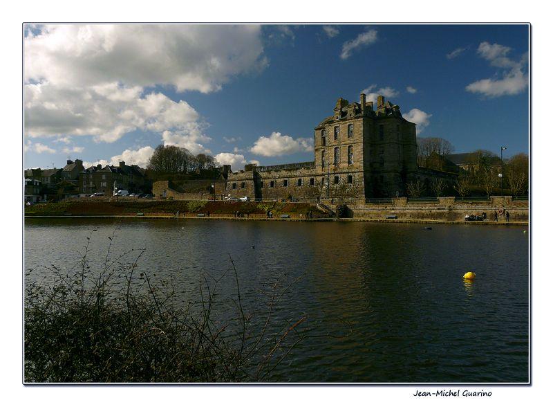 Quintin Bretagne France Lac