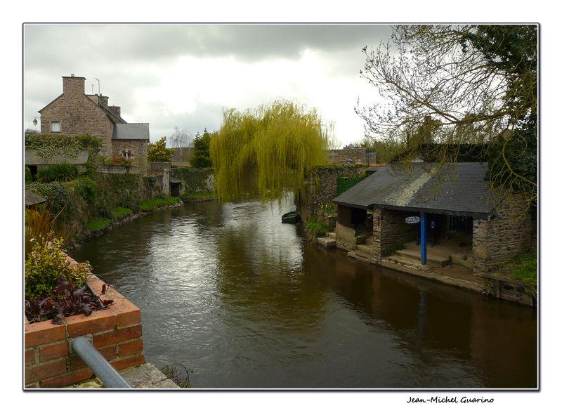 Pontrieux - riviere du Trieux cotes d'armor bretag