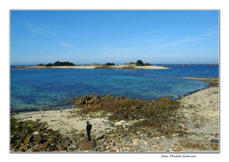 Ile des femmes mer Penvenan Cotes d'armor Bretagne
