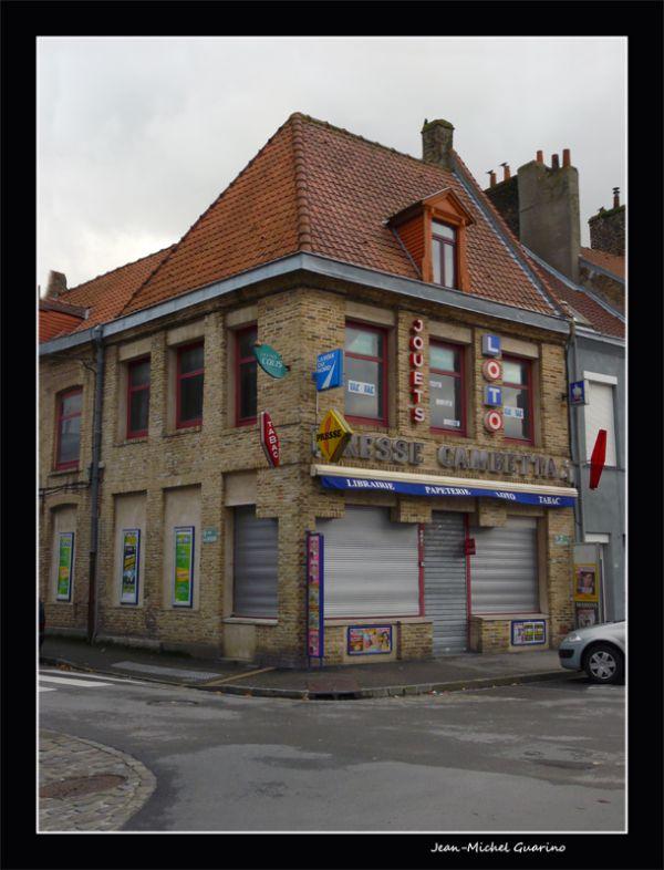 Bergues France Film les Chtis Presse Gambetta