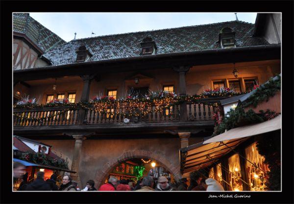 Colmar Alsace France Marche de Noel