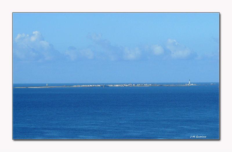 Ile de Sein pointe du Raz Morbihan Bretagne Mer