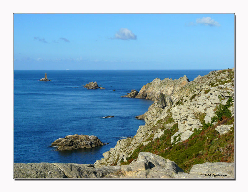 Pointe du Raz Finistère Bretagne mer