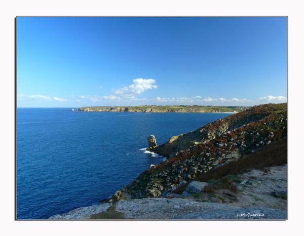 Baie des Trepasses Pointe du Van FInistere Bretagn