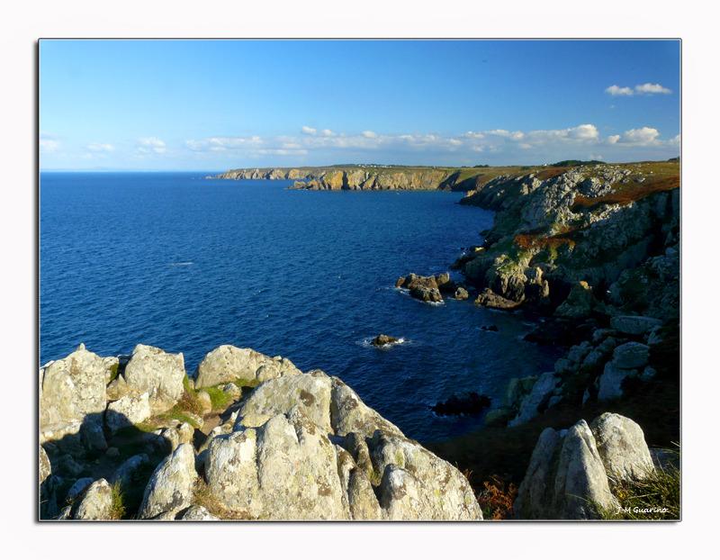 Pointe du Raz Finistere Bretagne mer