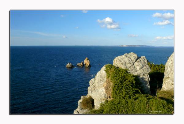 Pointe du Van Finistere Bretagne mer