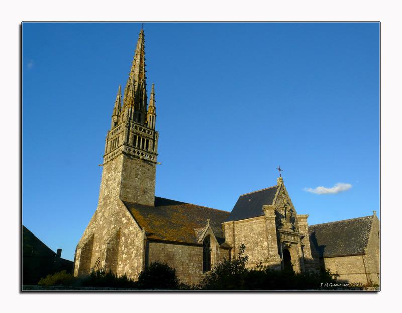 Finistere Bretagne Eglise typique
