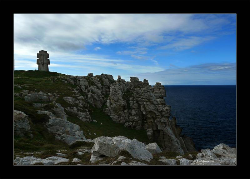 Cap de la chevre Finistere Bretagne bord de mer