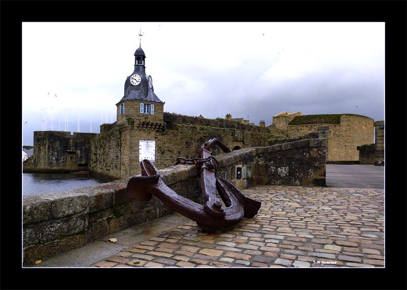 Concarneau Finistere Bretagne vieille ville