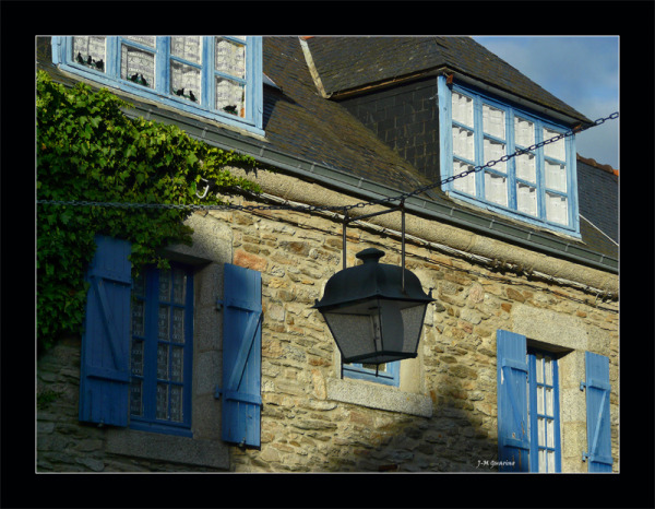 Concarneau Finistere Bretagne rue