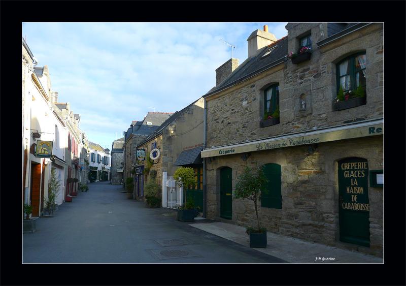 Concarneau Finistere Bretagne ville close