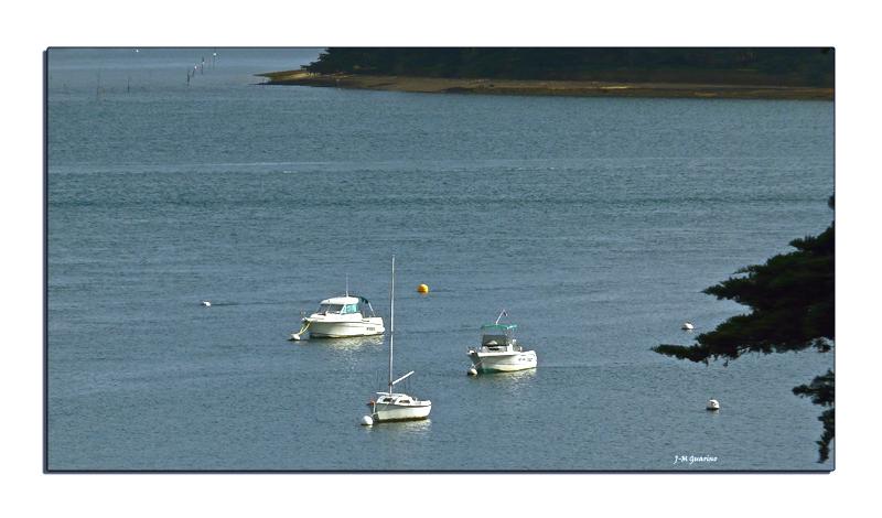 Ile aux Moines Golf Morbihan voiliers