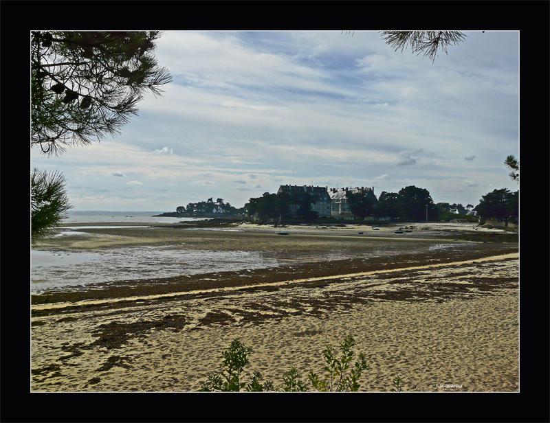La Trinite sur mer Morbihan Bretagne Plage