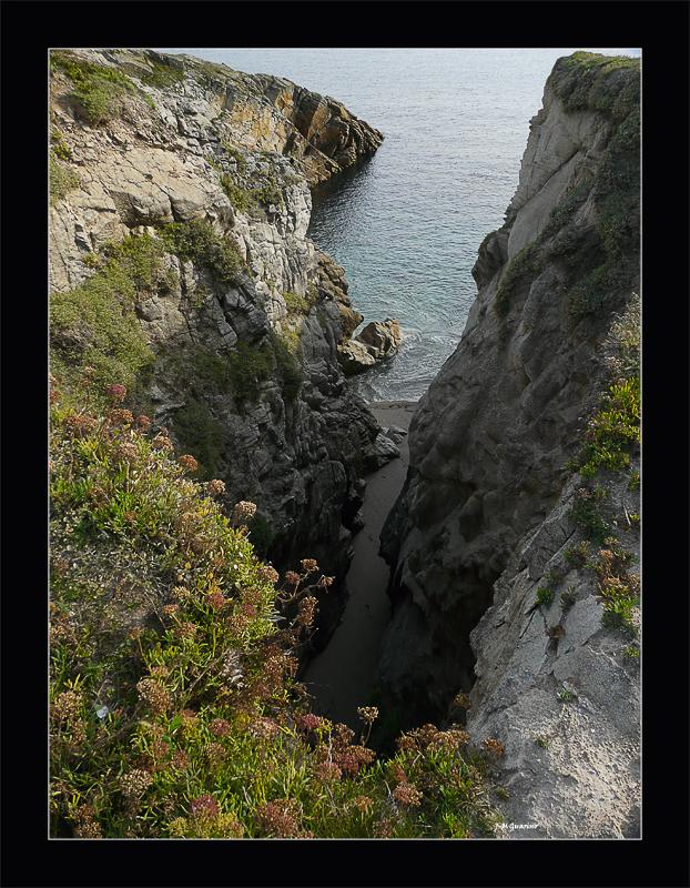 Quiberon cote sauvage Bretagne