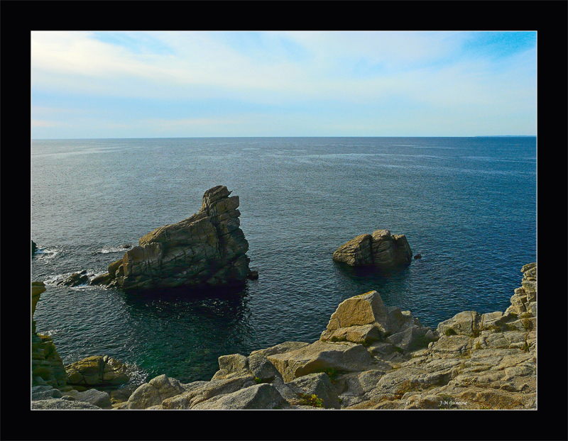 Quiberon cote sauvage Morbihan Bretagne Mer