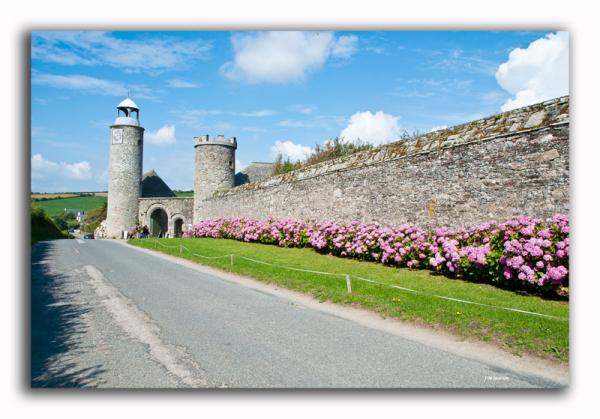 Chateau Rozel Cotentin Flamanville France
