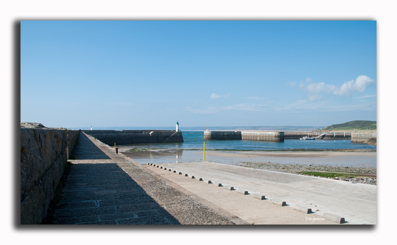 Flamandville Cotentin France Port