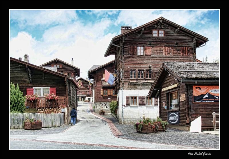 Vissoie Montagne Suisse