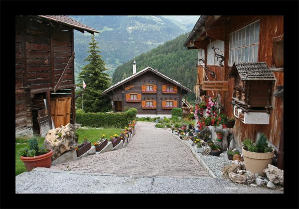 Suisse Valais Montagnes