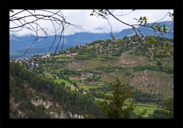 Montagnes Vercorin Valais Suisse