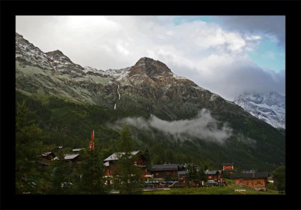 Suisse Valais Montagnes Val d'Anniviers Zinal
