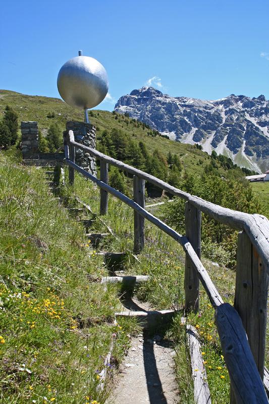 Suisse Valais Montagnes Val d'Anniviers Vissoie