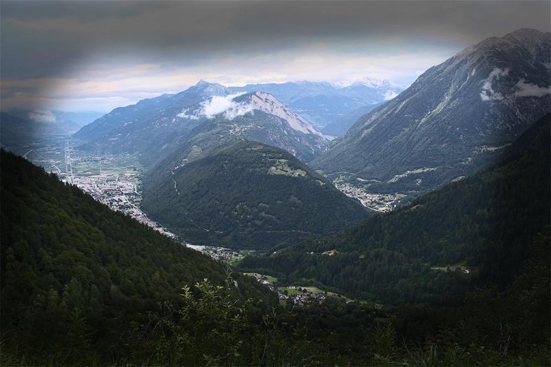Martigny vallee Suisse