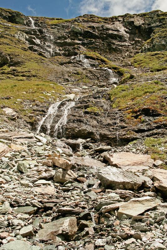 Cascade Suisse Valais Montagnes