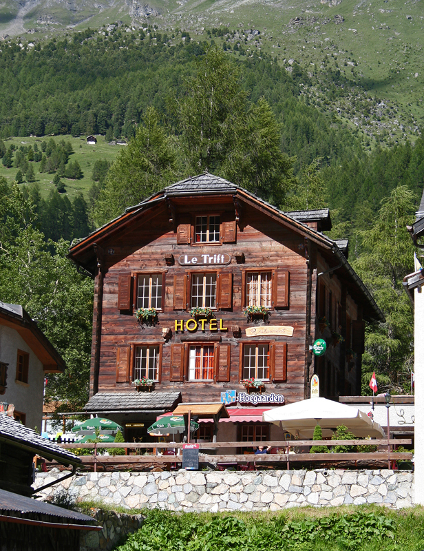 Hotel Le trift Zinal Val Anniviers