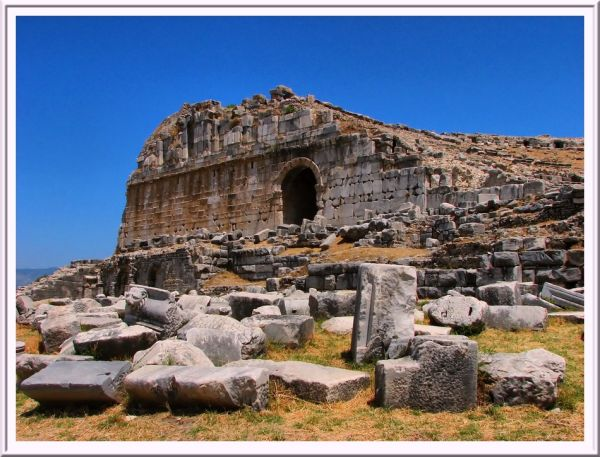 antique city, Turkey, architecture, art