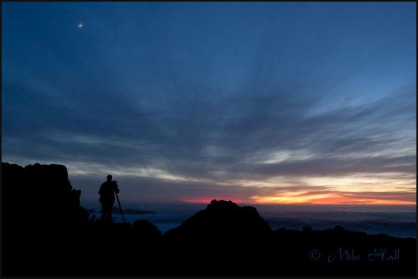 Last Light on the Big Sur Coast