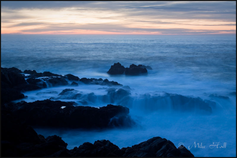 Garrapata State Beach Twilight, Big Sur Coast