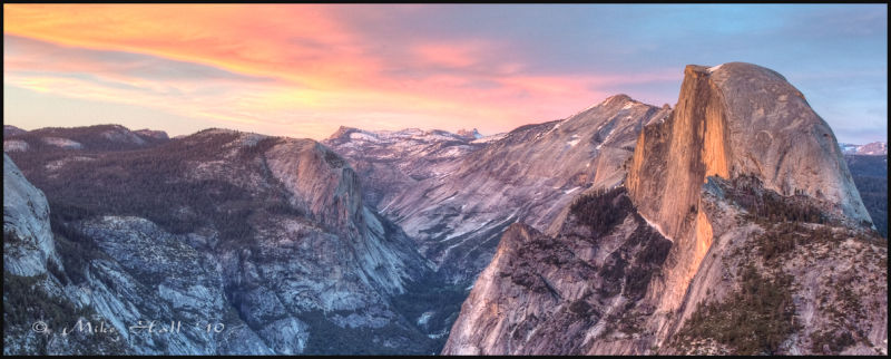 Glacier Point Sunset, Yosemite National Park
