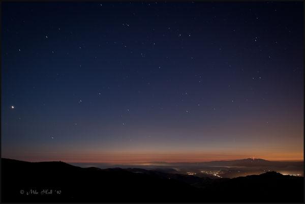 Twilight over Monterey Bay