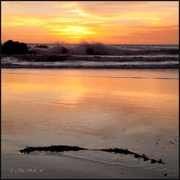 A late Fall Pfeiffer Beach Sunset