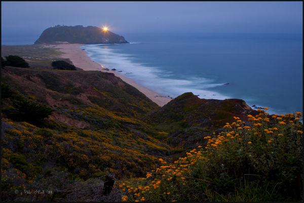 Point Sur Lighthouse on the Big Sur Coast