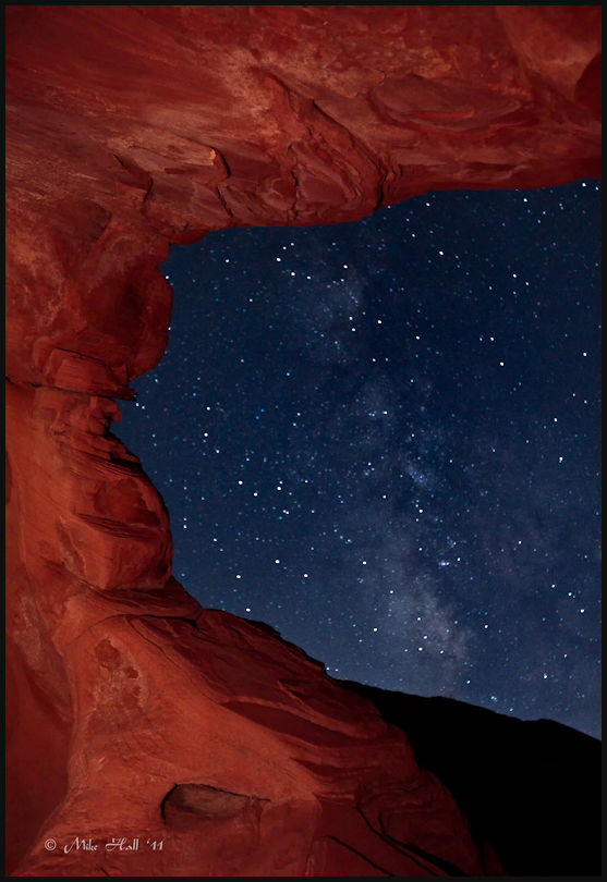 Arch Rock at Night, Valley of Fire State Park