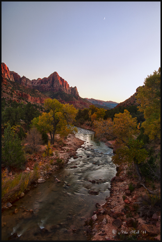 The Watchman in Zion National Park