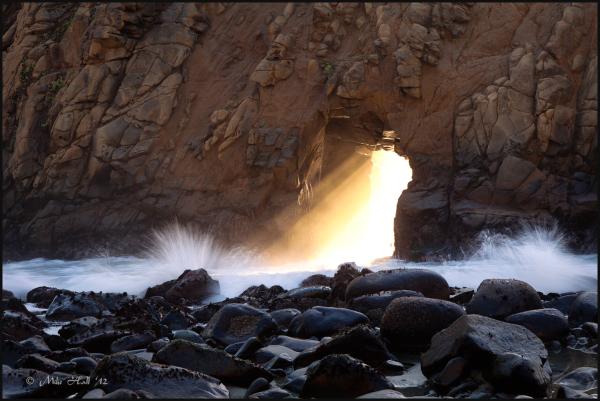 Pfeiffer Beach Arch Light
