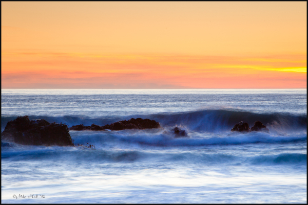 Big Sur Winter Sunset